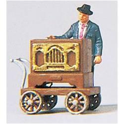 Barrel Organ Musician.