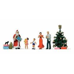 Papa Noel: regalos de Navidad.