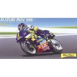 Moto Suzuki RGV 500. HELLER 80922