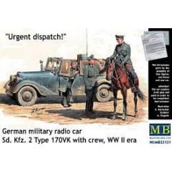 German military radio car. MASTER BOX 35151