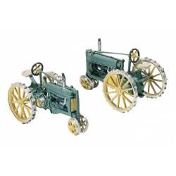 2 tractors .