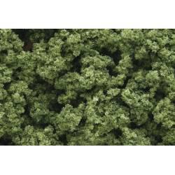 Flocado verde claro.
