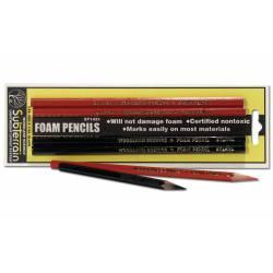Foam pencils.