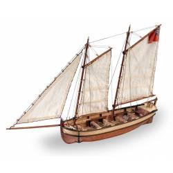 HMS Endeavour, lancha del capitán. ARTESANIA 19015
