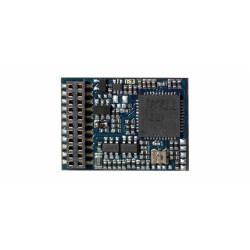 LokPilot V4.0 DCC decoder, 21-pin plug.