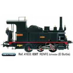 """030 locomotive """"El Burbia"""", RENFE. IBERTREN 41033"""