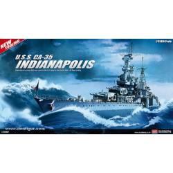 USS Indianapolis, 1945. ACADEMY 14107