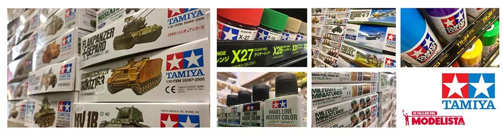 Productos de Tamiya en el Taller del Modelista